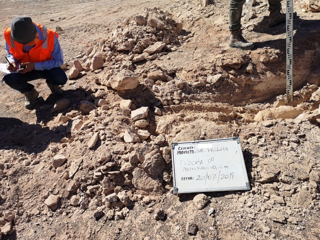 Geología Aplicada Calicatas